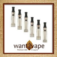 CE4 eGo Clear Cartomizer 1.6ml